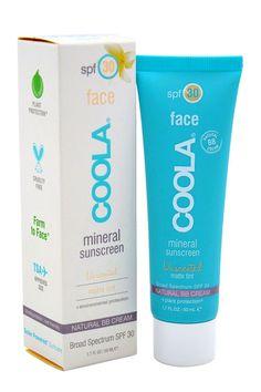 Coola Suncare Mineral Face Sunscreen