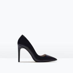 stilettos negros zara www.decharcoencharco.com