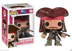 Funko Pop Pirates of the Caribbean Jack Sparrow 10cm Vinyl Collection Figures Doll With Packaging @ niftywarehouse.com #NiftyWarehouse #PiratesOfTheCarribbean #Pirates #Movies #Pirate
