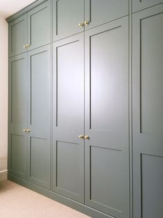 Built in Wardrobe Fitted wardrobe Bedroom Storage Victorian Terrace Farrow Ball Oval Room Blue farrowandball Bedroom Built In Wardrobe, Fitted Bedroom Furniture, Fitted Bedrooms, Master Bedroom Closet, Wardrobes For Bedrooms, Wardrobe Wall, Built In Wardrobe Ideas Sliding Doors, Built In Wardrobe Designs, Master Bedrooms