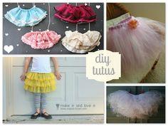 Round Up: Tutu DIYs — A Sewing Journal