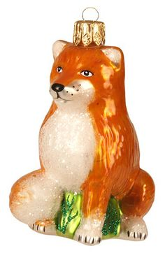 Nordstrom at Home Nordstrom at Home Handblown Glass Fox Ornament available at #Nordstrom