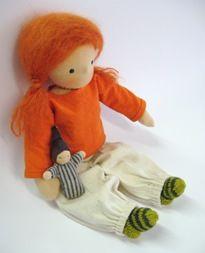 Handmade dolls - adorable!  #diy #crafts