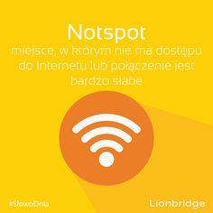 #‎SłowoDnia‬: notspot   Przykład: This place is such a notspot I can't even get a signal here. http://www.learn-english-today.com/new-words/new-words-in-english4.html