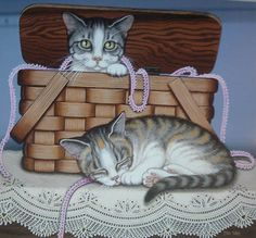 Cat image 87b -- by Sue Wall, Cypress Fine Art Licensing