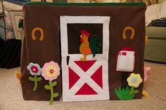 SO CUTE! a cover for your card table to make it into a playhouse