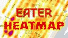 The Updated Eater Heatmap: Where to Eat Right Now (NOLA, August '13)