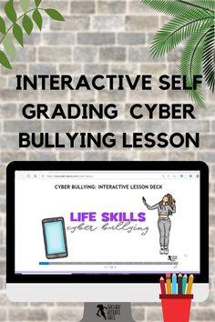 Are you looking to help your students develop coping skills for cyber bullying with a self-directed, interactive lesson that provides immediate feedback? This Life Skills lesson on Cyber Bullying is completely remote and hosted online – simply give students the website and password and off they go! Teacher Resources, Teaching Ideas, Bullying Lessons, Life Skills Lessons, Cyber Bullying, Guidance Lessons, Technology Integration, Classroom Community, Coping Skills