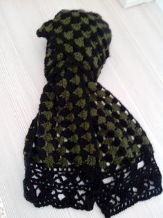 bufanda bicolor