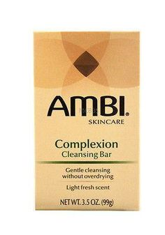 3.5 Oz Ambi Skincare Complexion Cleansing Bar 2 Pack