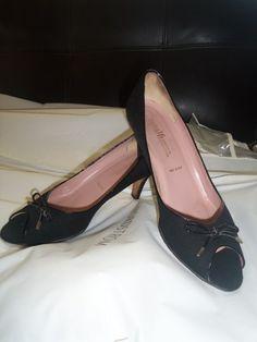 Vintage Amalfi Exclusively for Nordstrom peep toe pumps | VintageDressParlor - Clothing on ArtFire