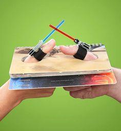 Bataille de pouces Star Wars – Gadget WTF du jour