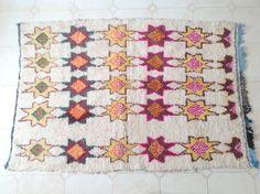 AZILAL. Jahrgang marokkanischer Teppich. von theboucherouiteshop