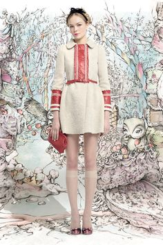 Red Valentino Pret a Porter Autumn Winter 2013-2014