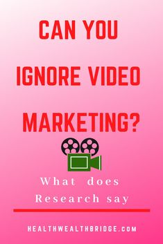 Can you ignore video marketing?What about text?But is video here to stay .Are all video platforms equal?