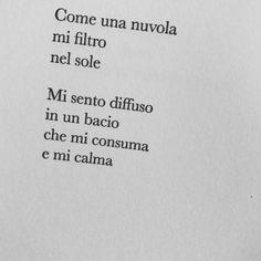 """""""Mi sento diffuso in un bacio che mi consuma e mi calma"""" (Giuseppe Ungaretti) #ungaretti #poetry #poesia #lacitazione #diVersi @la_lettura"""