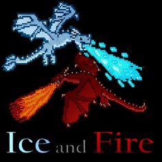 Ice and Fire: Dragons in a whole new light! Mod - Dragons in a whole new light! Fire And Ice Dragons, Got Dragons, Minecraft Modpacks, Minecraft Bedroom, All The Mods, Fnaf Wallpapers, Best Mods, Minecraft Creations, Fire Dragon