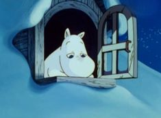Blue Aesthetic, Aesthetic Anime, Moomin Valley, Tove Jansson, Old Cartoons, Vintage Cartoon, Cartoon Pics, Cute Characters, Reaction Pictures