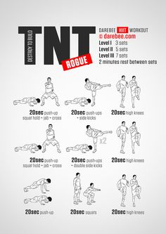 TNT Rogue Workout