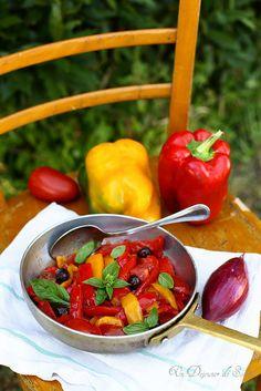 Un dejeuner de soleil: Peperonata, la poivronade italienne