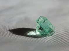 Loose Emerald Gemstone 1.55 carats African by DanPickedMinerals
