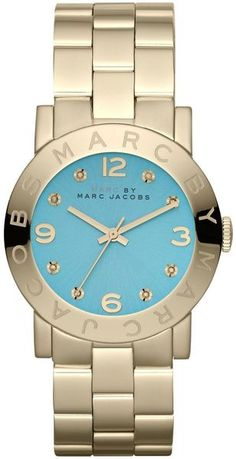 Marc By Marc Jacobs Amy Gold Stainless Steel Ladies Watch - Lyst