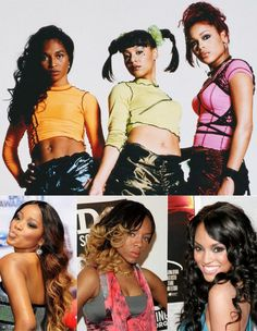 """Here is the cast for the TLC Biopic. Keke Palmer as Rozonda """"Chilli"""" Thomas, Lil' Mama as Lisa """"Left Eye"""" Lopes, and Drew Sidora as Tionne """"T-Boz"""" Watkins."""