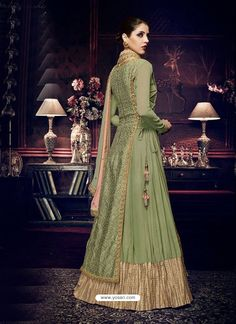 Shop pista green georgette sharara suit , freeshipping all over the world , Item code Indian Attire, Indian Ethnic Wear, Indian Outfits, Silk Anarkali Suits, Anarkali Dress, Salwar Suits, Sharara Suit, Shalwar Kameez, Punjabi Suits