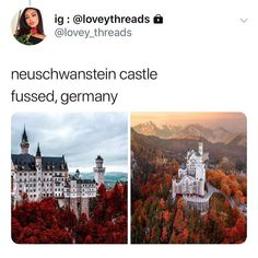 I would love to go back in the fall or winter! Vacation Places, Dream Vacations, Vacation Spots, Beautiful Places To Travel, Cool Places To Visit, Romantic Travel, Future Travel, Travel Aesthetic, Places Around The World