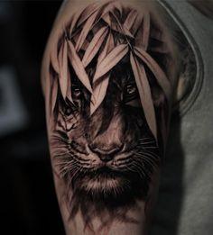 Xem ảnh này của @jamesstrickland trên Instagram • 2,590 lượt thích Animal Tattoos For Men, Rose Tattoos For Men, Tattoos For Guys, Wolf Tattoos, Life Tattoos, Tatoos, Mens Tiger Tattoo, Jaguar Tattoo, Black Panther Tattoo