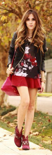 Look Du Jour: Les Fleursd'automne by Fashion Coolture