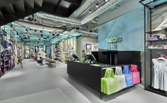 Adidas NEO flagship store, Berlin store design