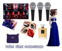 """""""Voice final"""" by aksa786 ❤ liked on Polyvore"""
