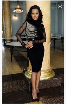 "Kerry Washington as Olivia Pope in ""Scandal"" So fierce and fab! Kerry Washington Hair, Black Is Beautiful, Beautiful People, Olivia Pope Style, Scandal Fashion, Medium Curls, Meagan Good, Retro Mode, Thing 1"