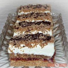 Karácsonyi gesztenyés sütemény Hungarian Desserts, Hungarian Recipes, My Recipes, Cookie Recipes, Dessert Recipes, Sweet Cookies, Sweet Treats, Torta Recipe, Easy Tiramisu Recipe