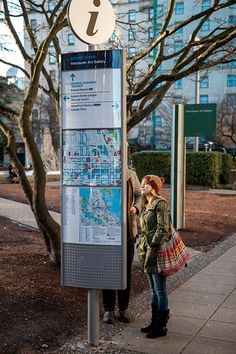 Vancouver's living map looks ahead with Applied - Applied Wayfinding Map Signage, Wayfinding Signs, Signage Design, Environmental Graphic Design, Environmental Graphics, Vancouver Art Gallery, Design Strategy, City Maps, Urban