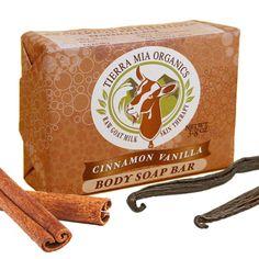 Cinnamon Vanilla - Body Soap Bar #TMOGiveaway