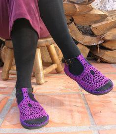 Vegane Mary Jane häkeln Schuhe wählen Sie Ihre von lepiedleger