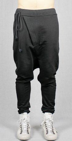 Biker Big Drop Crotch Droprise Back low Button Pocket por Ofelpan