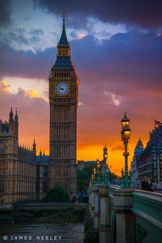 Big Ben ~ London, England