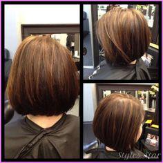 MEDIUM TO SHORT STACKED HAIRCUTS - http://stylesstar.com/medium-short-stacked-haircuts.html
