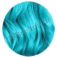 Updated Hair Dye Swatch For Crazy Color Bubblegum Blue On