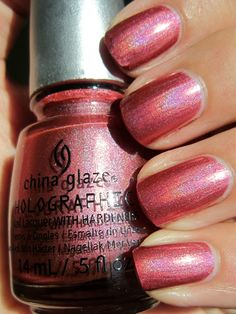 China Glaze - Not in This Galaxy [Holographic Pink]