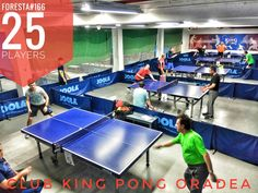 Turneul săptămânal #FORESTA etapa 166: 25 jucători #pingpong #tenisdemasa #asztalitenisz #tabletennis #tischtennis #oradea