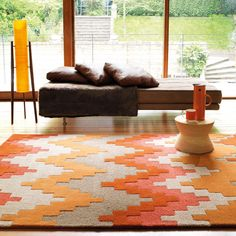 Matrix Cuzzo Rugs In Sienna Are Handmade India With A Deep Soft Luxurious