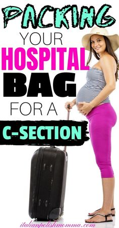 Here is everything you'll need to pack for a scheduled c-section! Trust me, I've had 4 c-section deliveries and here are the hospital bag must-haves you won't want to forget! Also, get your free hospital bag packing list! Pack these items and you'll be ready for your c-section delivery and c-section recovery! Breastfeeding After C Section, Breastfeeding Tips, C Section Workout, Scheduled C Section, C Section Scars, Hospital Bag For Mom To Be, Pregnancy Advice, Trimesters Of Pregnancy, Mom Advice