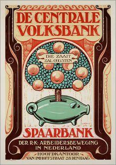Vintage Dutch Posters(Y)
