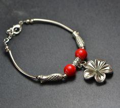 Restore ancient ways jewelry for women MiaoYinHua Tibetan silver bracelet $9