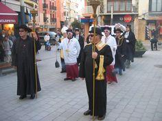Carnaval Palamós, Colla del Testament, Enterrament de la Sardina