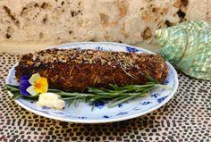Rosemary Walnut Crusted Salmon with Garlic Aioli --I don't really like fish so it's worth the shot!
